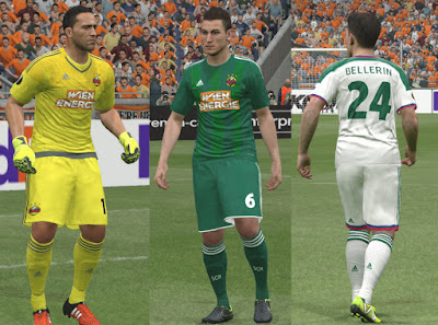 PES 2016 Rapid Wien 15-16 Kits by Kuzmich