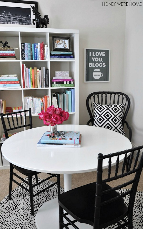 I Debated Over The Style And Color Of The Table Chairs For Awhile Too,  Using Temporary Plastic Folding Chairs At First And Ruling Out These Chairs  As Too ...