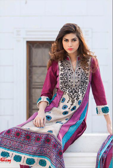 Anum summer,Spring classic Lawn Collection 2012