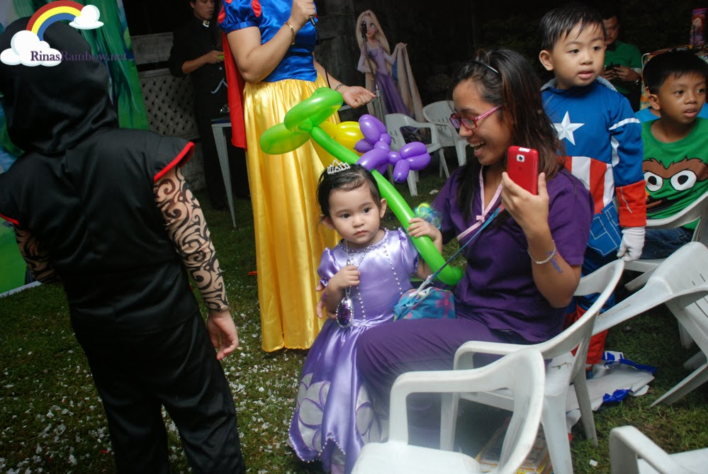 princess sofia mascot