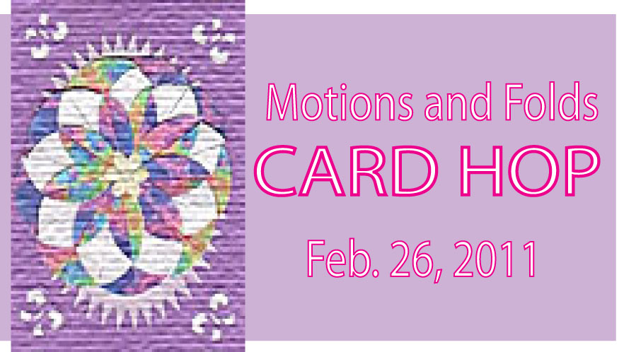 Folds and Motions Card Hop