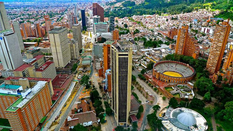 Bogotá, la ciudad capital de Colombia. Foto tomada de agenda.deusto.es