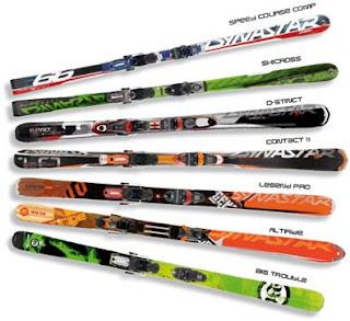 Де купити лижі. Вибір гірських лиж / Где купить лыжи. Выбор лыж /