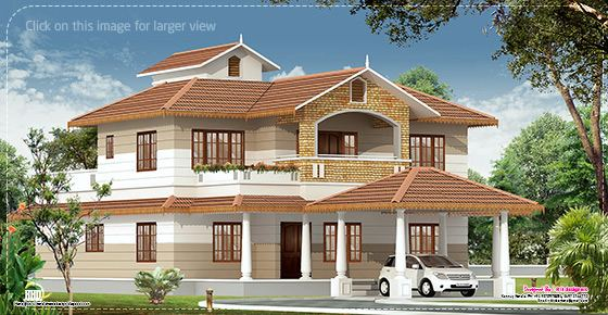 Kerala Home With Interior Designs | Style House 3D Models