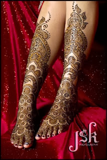 Indian Mehndi Designs for Girls