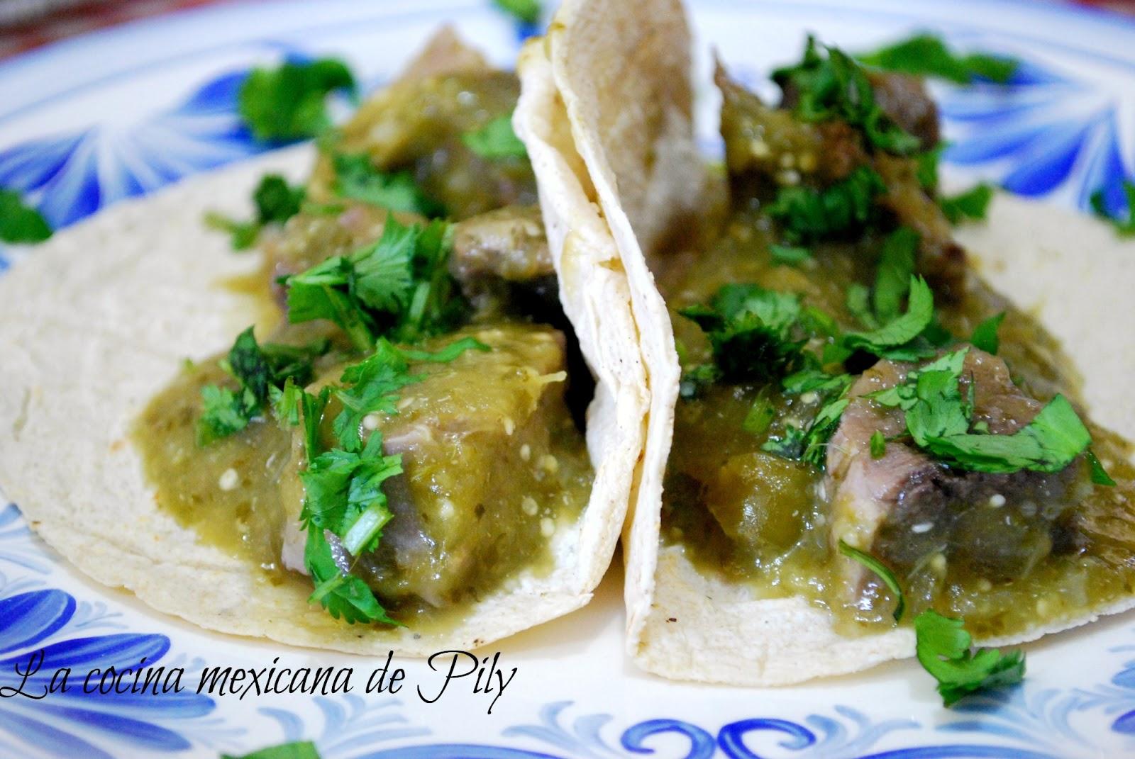 Lengua en salsa verde , salsa multiusos | La Cocina Mexicana de Pily