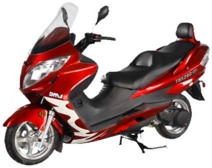 Bms Tbx 260 250cc Scooter Motor Users Guide Before