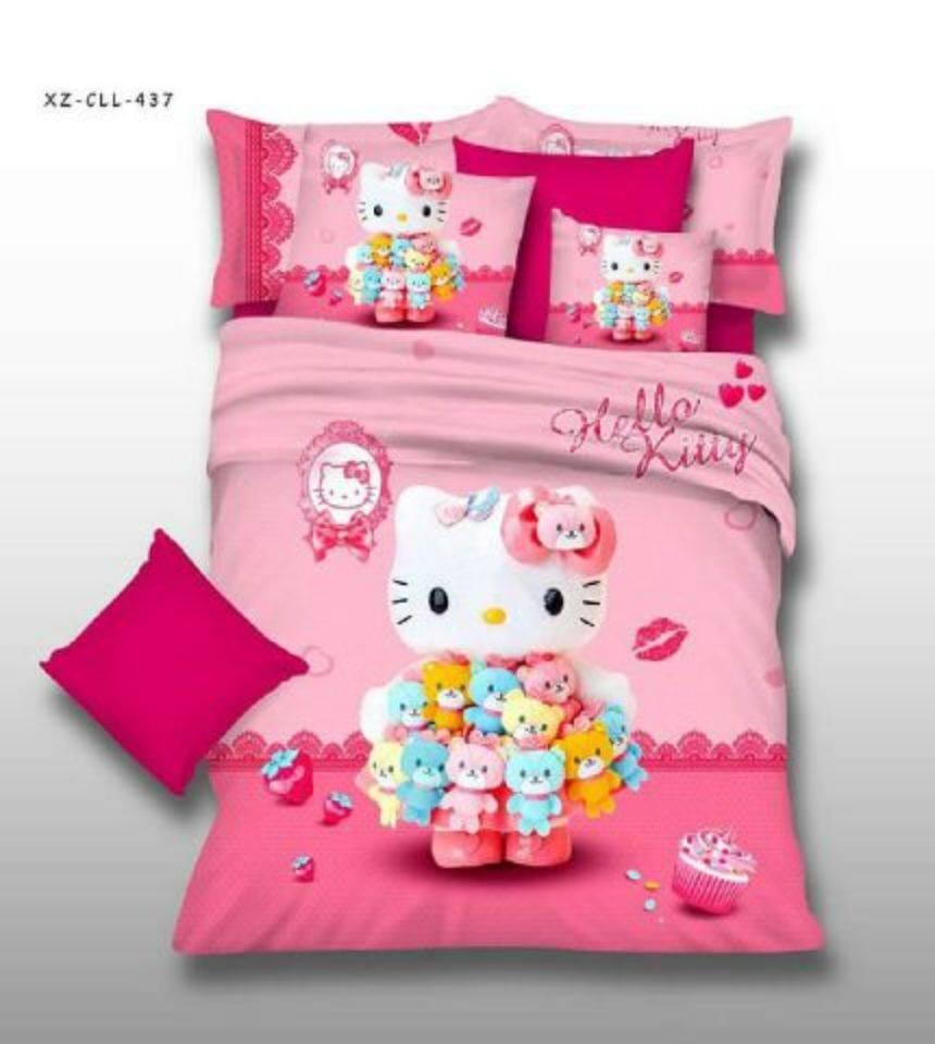 Lakuya Sprei Katun Jepang Anak Hello Kitty Seprei Taraaaaamau Bahan Yang Nyus Sejuk N Halustetapkan Pilihan Di Koleksi Ajadijamin Oke