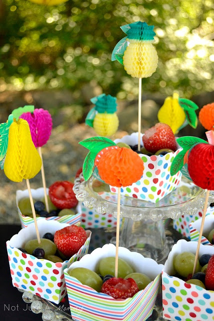 Pop Up Popsicle Party fruit cups