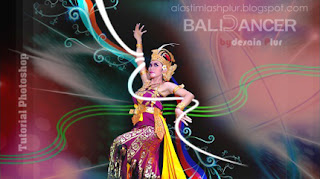 tutorial photoshop bali dance