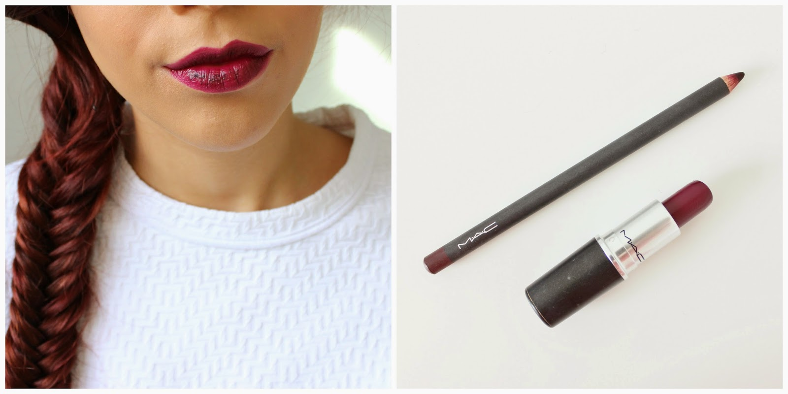 mac rebel and vino lip liner