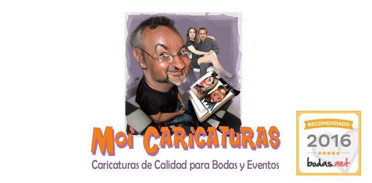 CARICATURAS MADRID. MOI Caricaturas para Eventos.