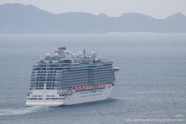 royal princess, puerto de Vigo
