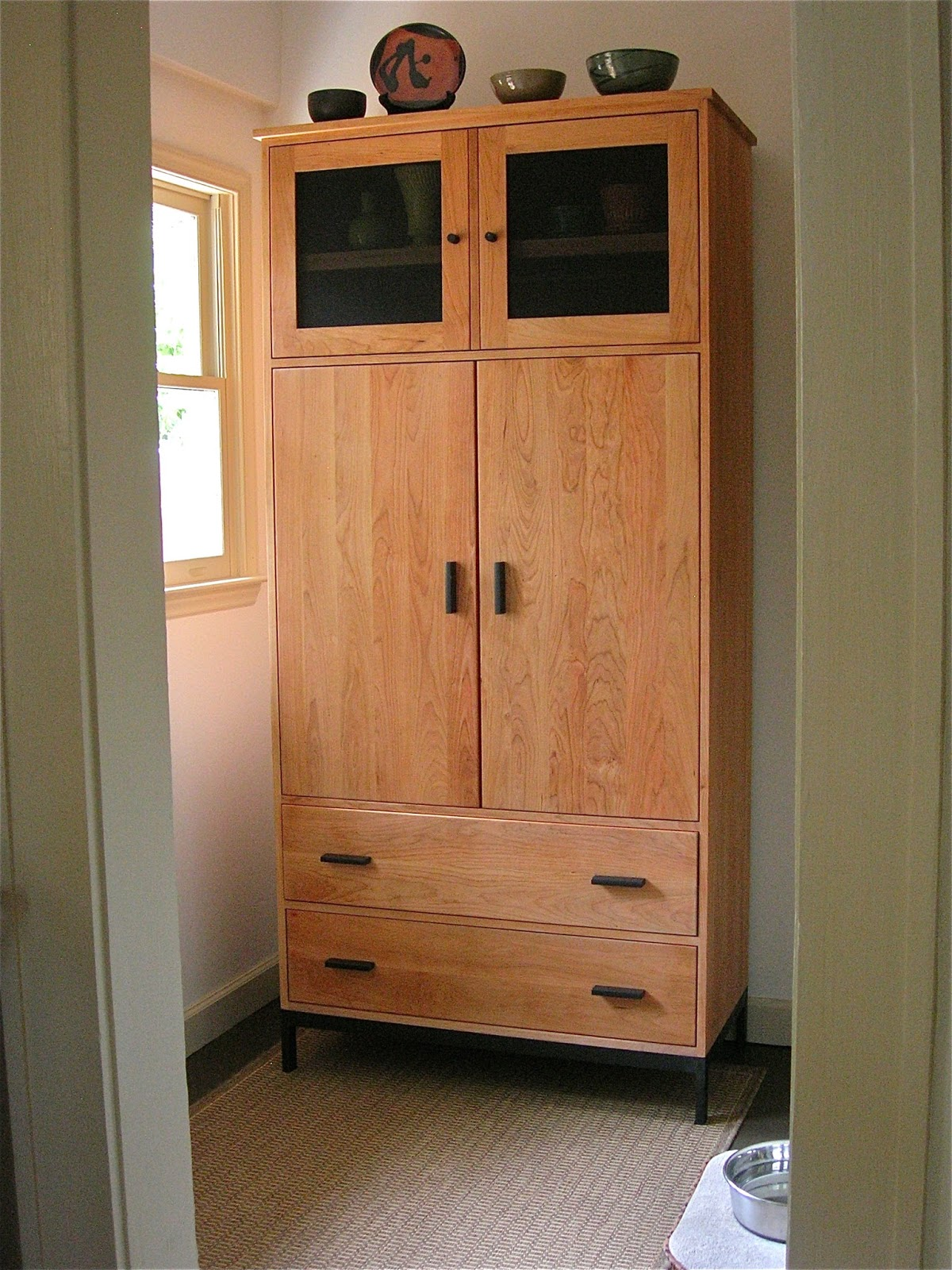 Mudroom Storage Cabinets : My little bungalow mudroom renovation storage cabinet