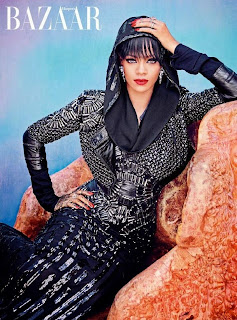 26-YEAR-OLD RIHANNA COVERS UP FOR 'HARPER'S BAZAAR ARABIA NEW ISSUE