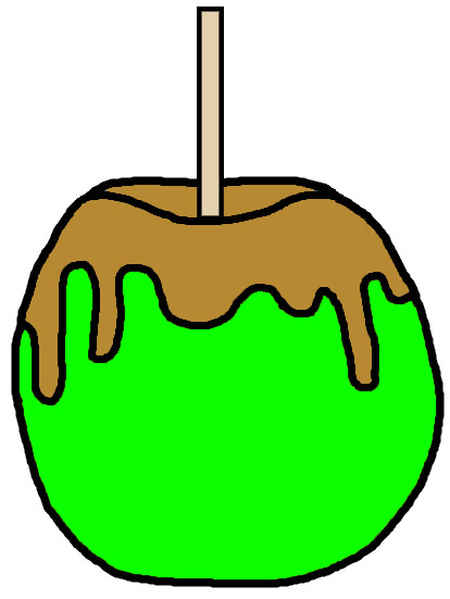 Church House Collection Blog: Candy Apple Clip Art