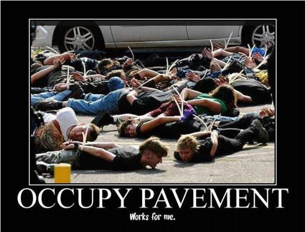 Occupy Pavement
