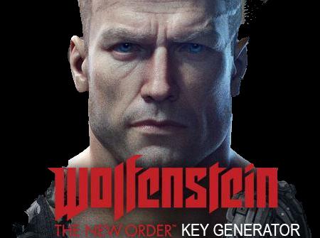 keygen wolfenstein the new order pc