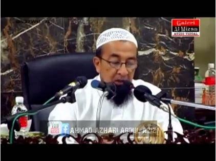 Hukum Tengok Video Lucah Ustaz Azhar Idrus