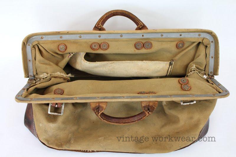 vintage workwear: Vintage 1940's-1950's BELL SYSTEM Canvas ...
