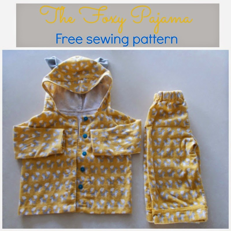 hooded top and pants sewing
