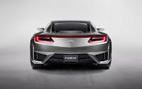 Acura NSX Supercar back