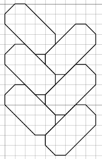 free blackwork braided pattern