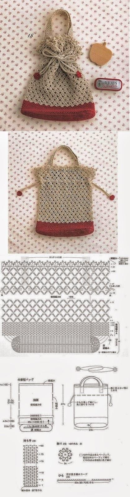 Bonita cartera crochet