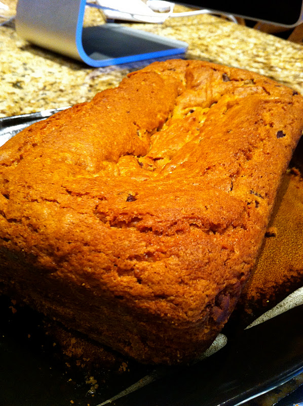 598 x 800 · 202 kB · jpeg, Chocolate pumpkin bread