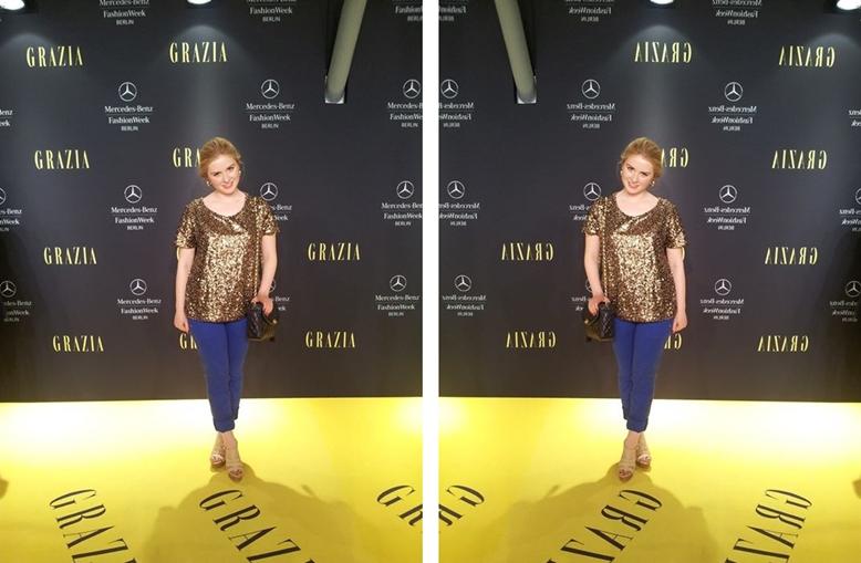 preview show by grazia, caroline leonhard preview show by grazia, auf den gelben teppich, yellow carpet, mercedes benz fashion week berlin grazia