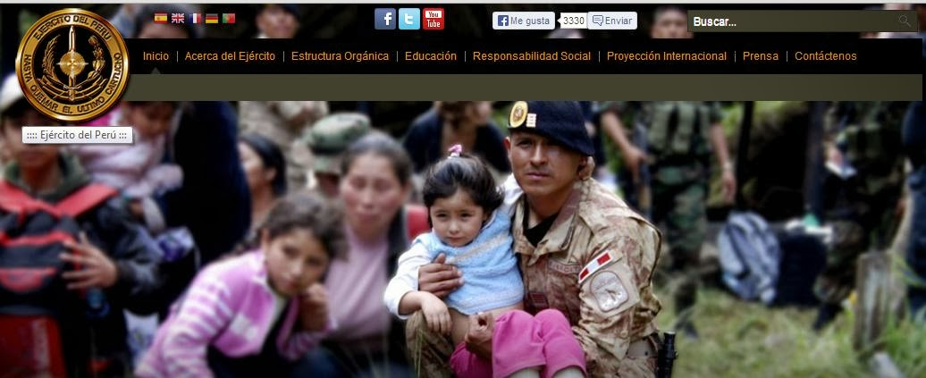 Relación de Ascensos Ejercito Peruano 2014 en: www.ejercito.mil.pe ...