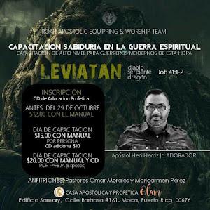 CAPACITACION EN GUERRA ESPIRITUAL: MOCA, PUERTO RICO, USA