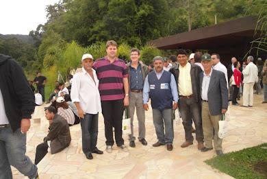 Vereador Marquinho na Inauguração do Parque Arqueológico Ambiental de Rio Claro