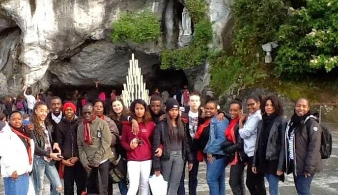 Aumônerie en pèlerinage à Lourdes