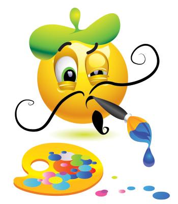 Painter emoticon