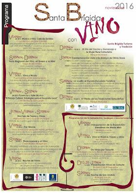 Programa santa Brígida con Vino 2016
