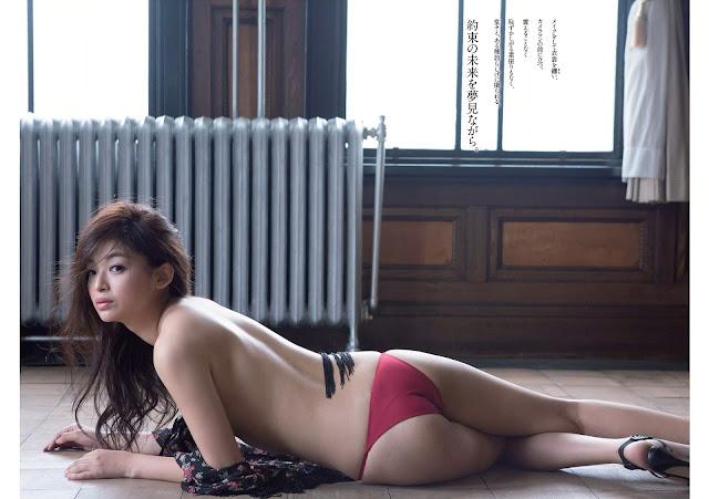 はずき Hazuki Weekly Playboy 週刊プレイボーイ No 31 2015 Wallpaper HD