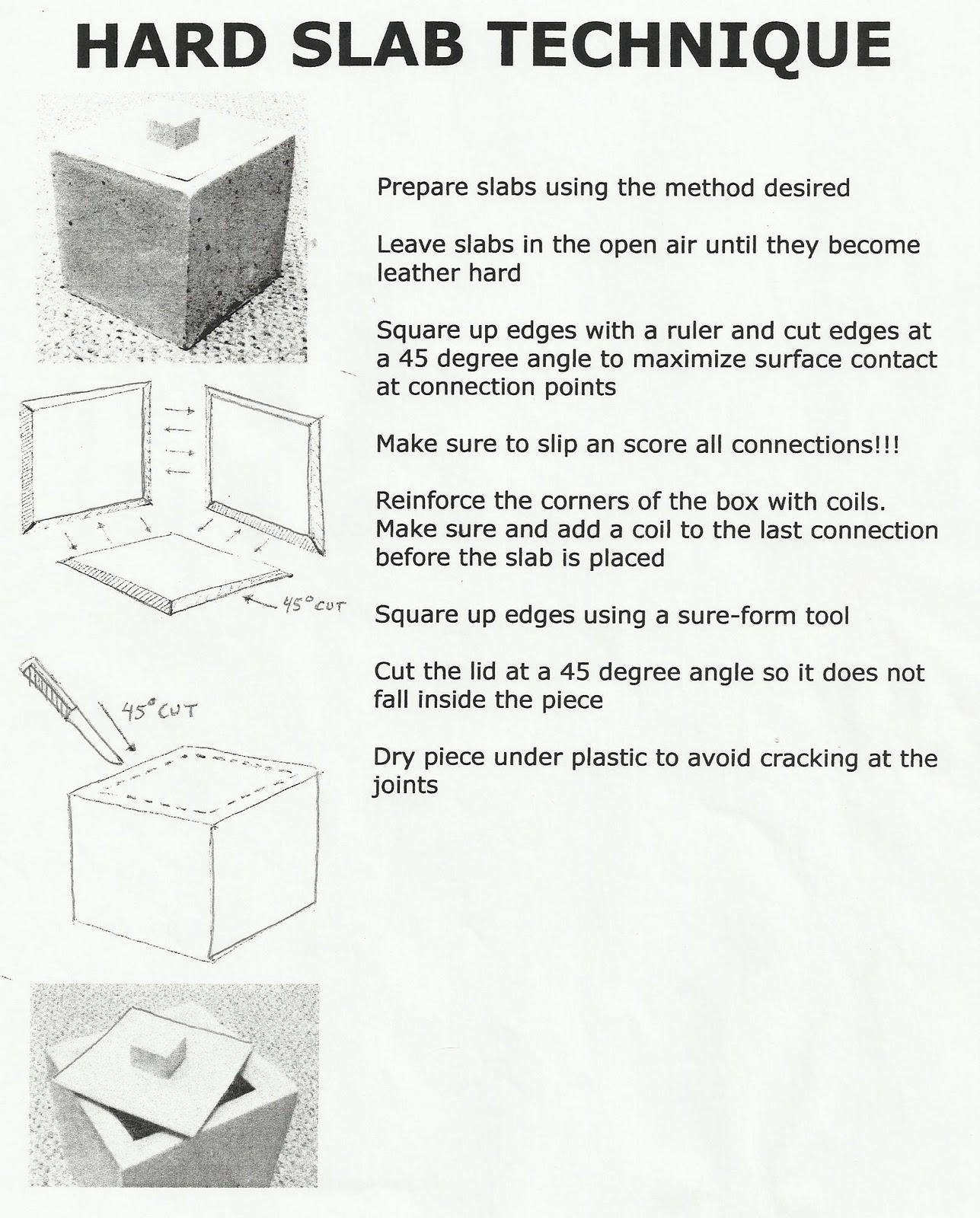 jake allee ceramic projects hand building technique. Black Bedroom Furniture Sets. Home Design Ideas