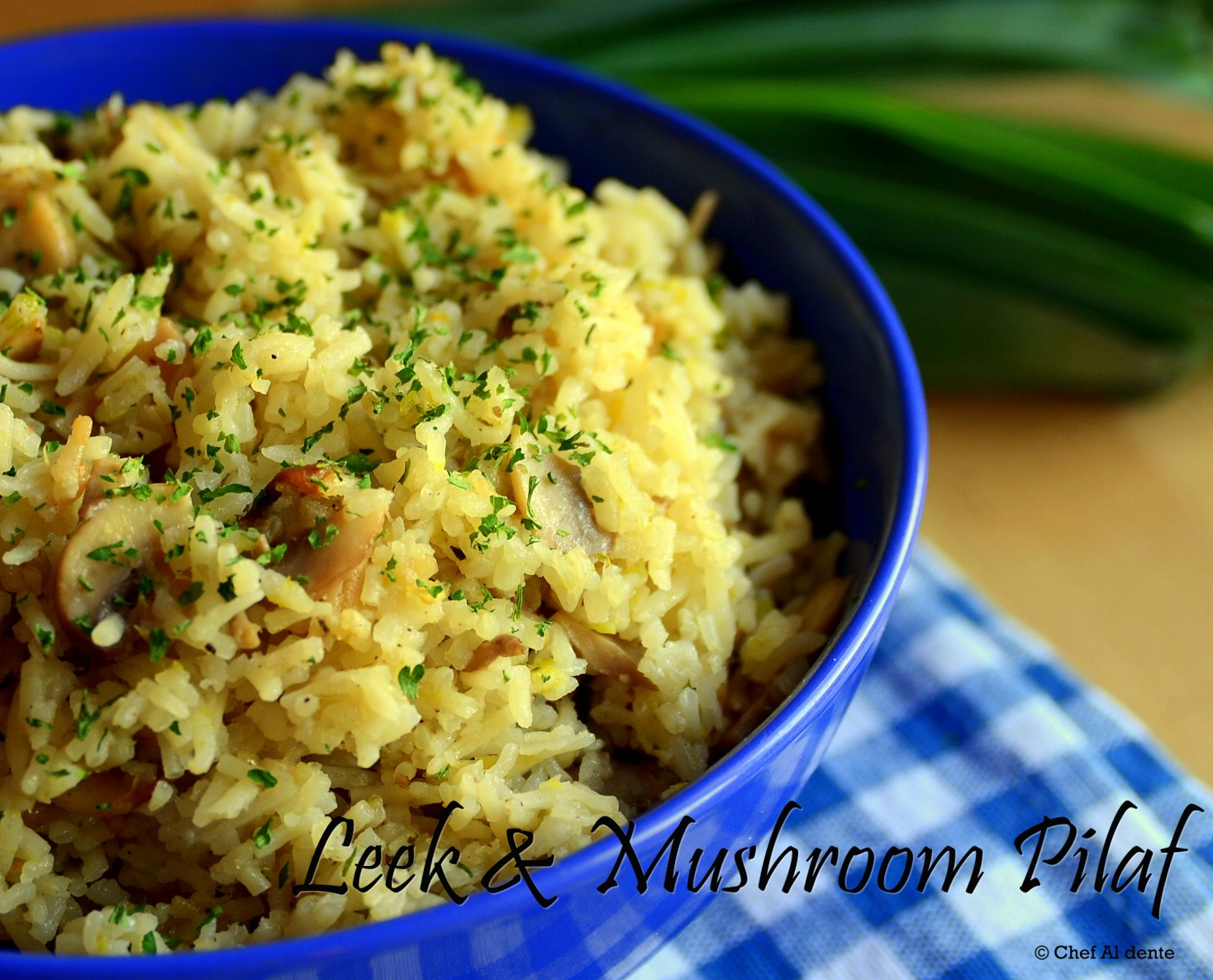 Indian food recipes indian recipes desi food desi recipes leek mushroom pilaf forumfinder Choice Image