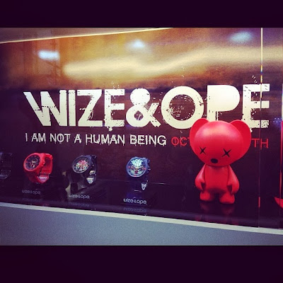 fotos de lil wayne en la presentacion de la nueva campaña de wize and ope