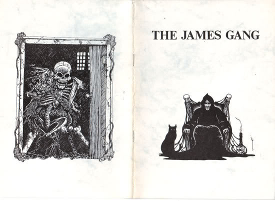 The James Gang: A Bibliography of Writers in the M.R. James Tradition, 1991