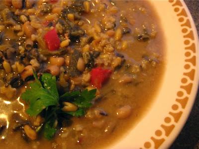 Miso Black-Eyed Pea Soup