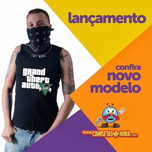 Camiseta-Cut-Here-Gta