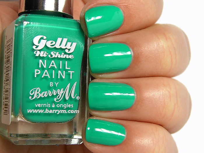 Barry M Gelly Nail Paint - Kiwi