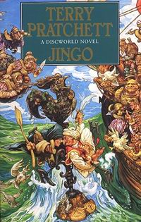 "Cover of ""Jingo"", a novel by Terry Pratchett"
