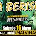 La Beriso presenta su nuevo disco en el Estadio Malvinas al aire libre (Capital Federal) y gira por el país