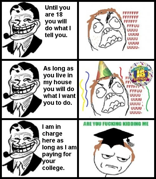 Do What Will I Tell You | Funny Troll