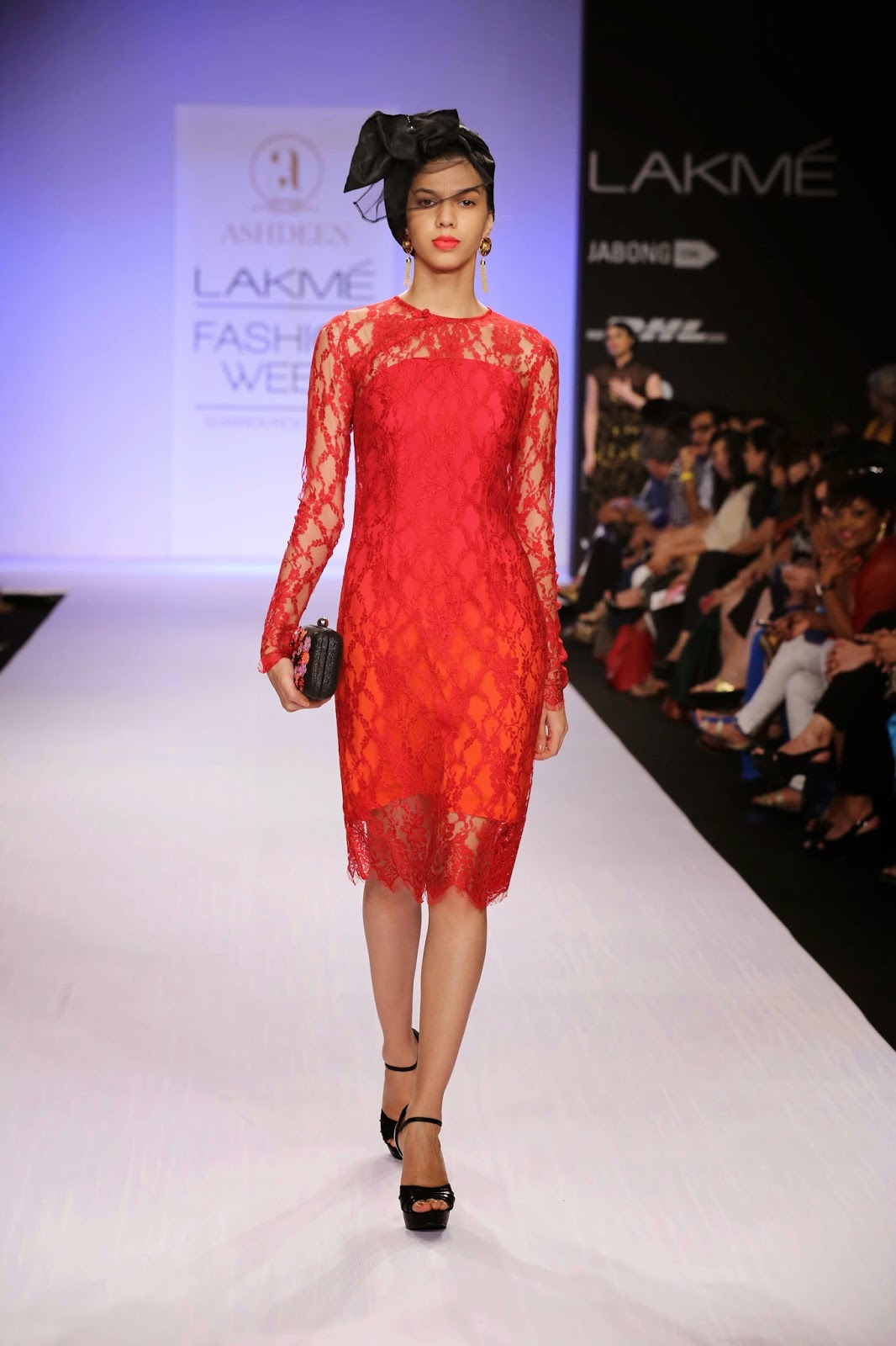 "Bringing to centre stage retro oriental glamour inspired by the beautiful Hollywood actress, Anna May Wong, Ashdeen Lilaowala's collection aptly called ""Orient Express"" at Lakmé Fashion Week Summer/Resort 2014 had all the drama, excitement and exotic touches."