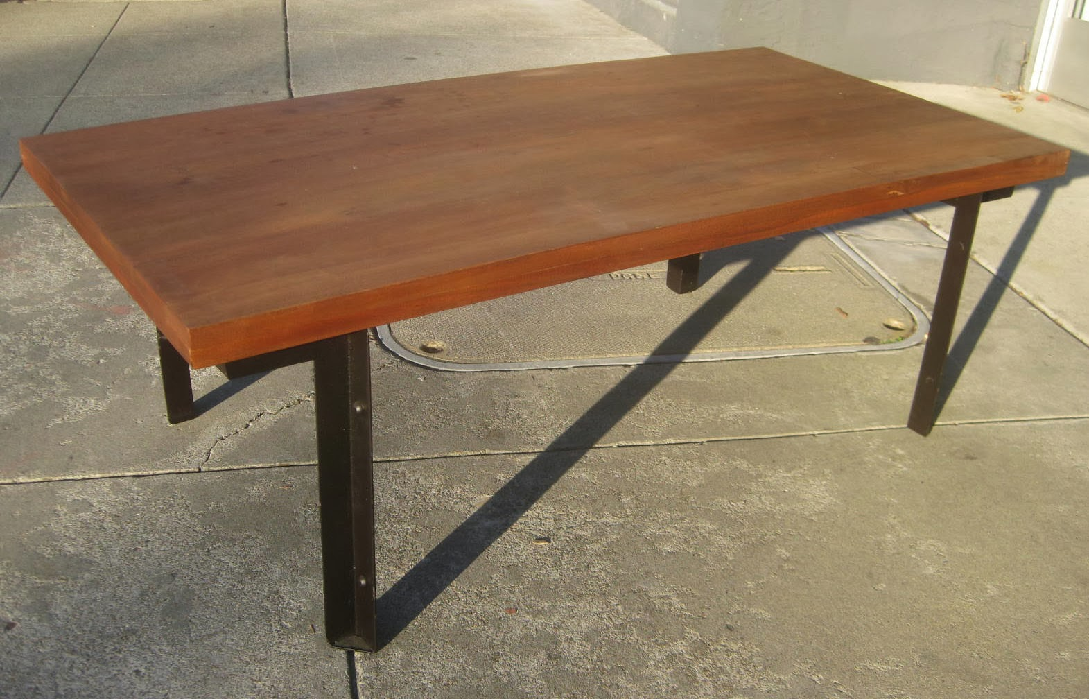 UHURU FURNITURE COLLECTIBLES SOLD Industrial Coffee Table 35