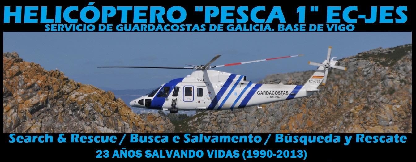 "Helicóptero ""Pesca 1"" EC-JES"